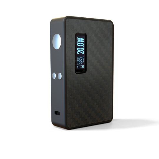 Εικόνα της Lost Vape EPetite DNA 60 TC BOX MOD Carbon Fiber Black