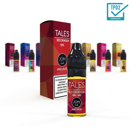 Picture of E-LIQUID 10ml Tales Red Dragon