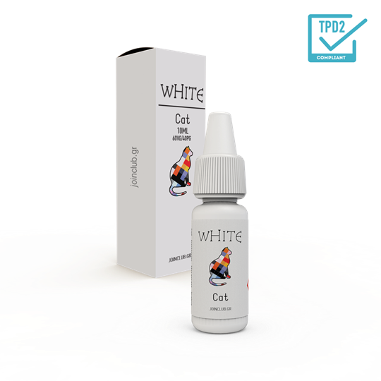 Εικόνα της E-LIQUID 10ml White Cat