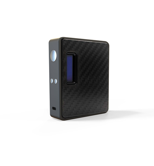 Εικόνα της Lost Vape ESquare DNA 60 BOX MOD Carbon Fiber Black