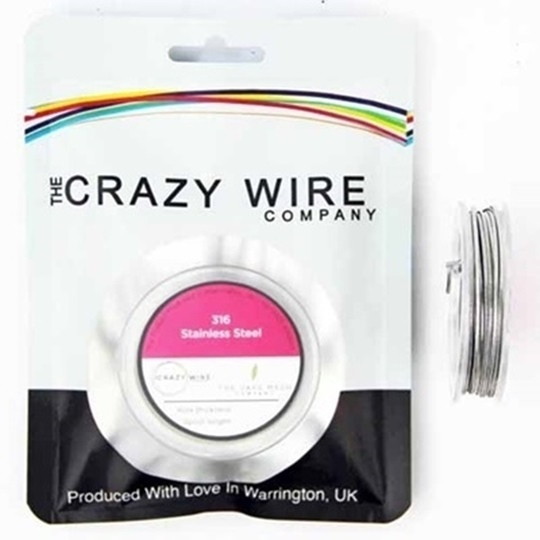 Picture of Crazy Wire SS316 0.32mm 10m