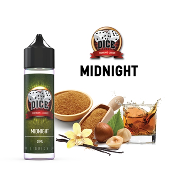 Picture of Dice Midnight Flavor Shot 60ml