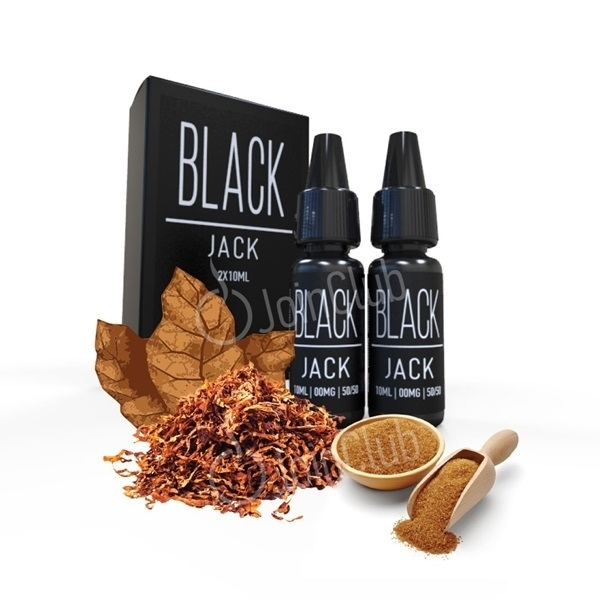 Picture of E-LIQUID 2x10ml Black Jack