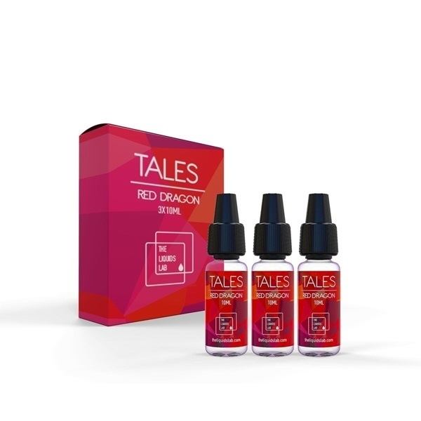 Picture of E-LIQUID 3x10ml Tales Red Dragon