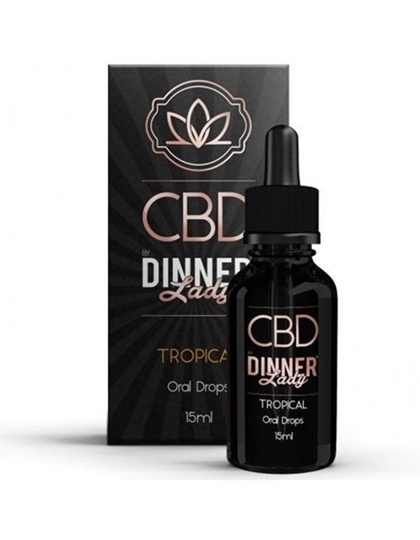 Picture of Dinner Lady Oral Drops Tropical 15ml 500mg
