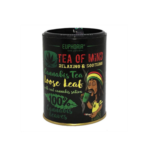 Picture of Euphoria Cannabis Tea of Mind 'LOOSE LEAF' 30g
