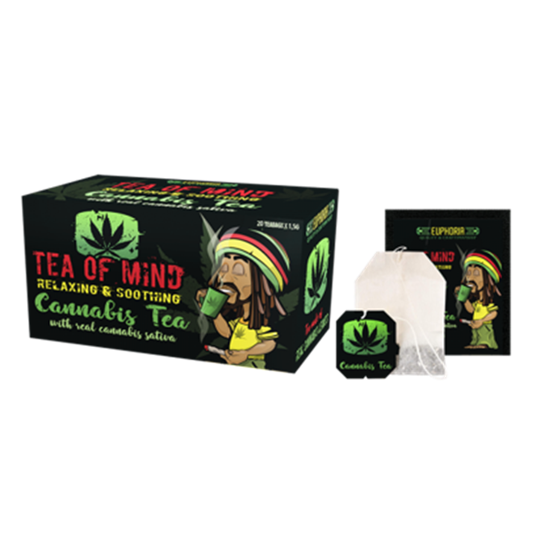 Picture of Cannabis Tea of Mind (κουτί με 20 φακελάκια)