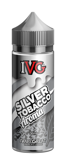 Picture of IVG Silver Tobacco Flavor Shots 120ml