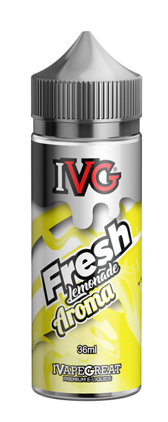 Picture of IVG Fresh Lemonade Flavor Shots 120ml