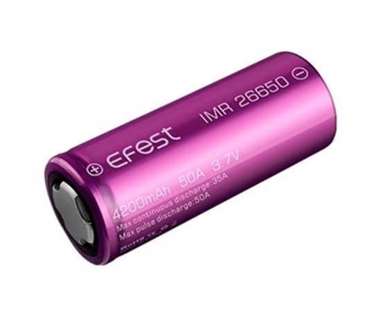 Picture of Efest IMR 26650 4200mAh 50A