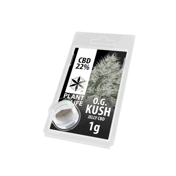 Picture of Plant of Life O.G Kush Jelly  1g 22% CBD