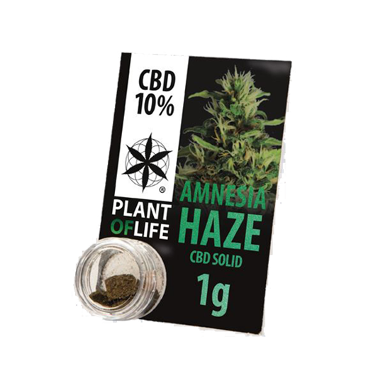 Picture of Plant of Life Solid Amnesia Haze 1g 10% CBD