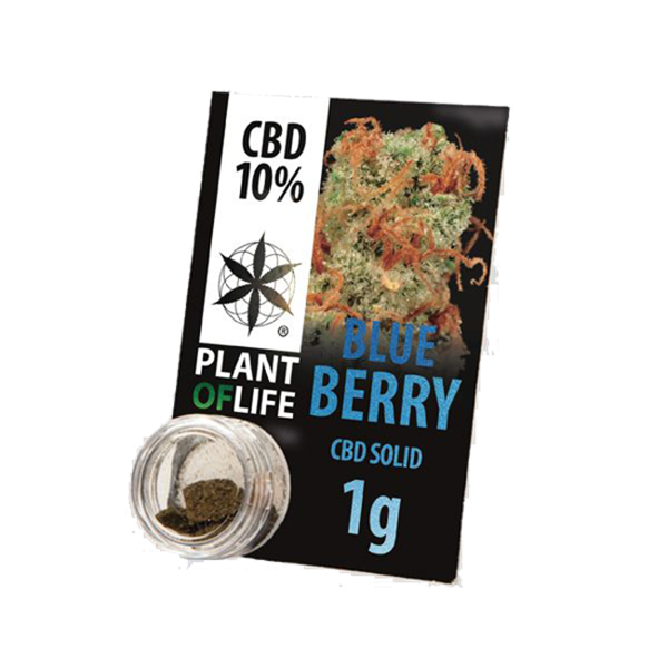 Picture of Plant of Life Solid Blueberry 1g 10% CBD