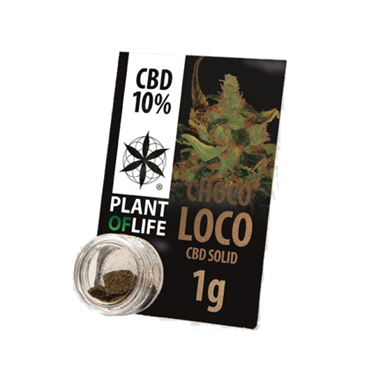 Picture of Plant of Life Solid Chocoloco 1g 10% CBD
