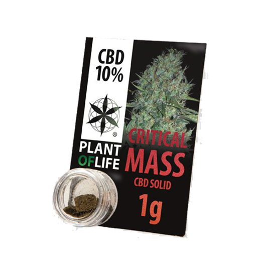 Picture of Plant of Life Solid Critical Mass 1g 10% CBD