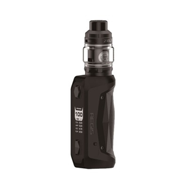 Picture of GeekVape Aegis Solo 100W Zeus Sub-Ohm 5ml Kit Black