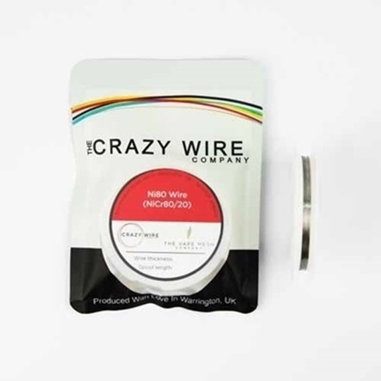 Picture of Crazy Wire Ni80 0.38mm 10m