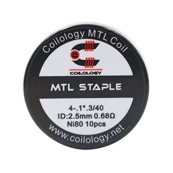 Picture of Coilology MTL Staple Coil Ni80 0.68ohm 10pcs