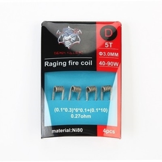 Picture of Demon Killer Raging Fire Coil Ni80 D 0.27ohm