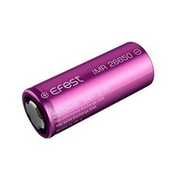 Picture of Efest IMR 26650 3500mAh 64A