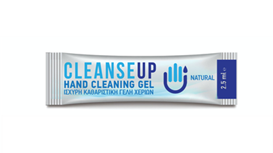Picture of BLEUCLEAN Hand Cleaning Gel 2.5ml (50 τμχ)