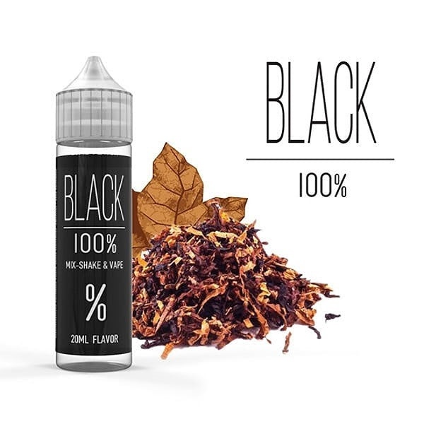 Picture of Black 100% Flavor Shots 60ml