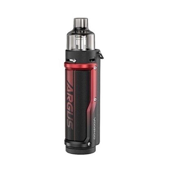 Picture of VooPoo Argus Pro 80W 4.5ml Litchi Leather & Red