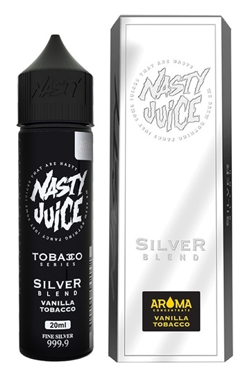 Picture of Nasty Juice Tobacco Series Silver Blend Flavor Shots 60ml