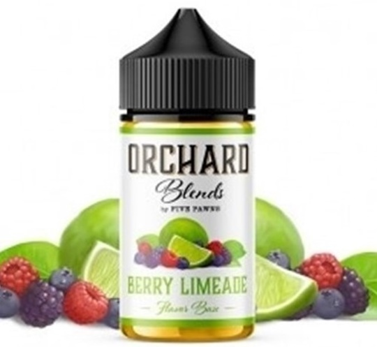 Picture of Orchard Blends Berry Limeade  Flavor Shots 60ml