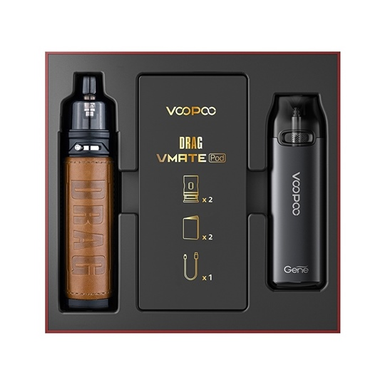 Picture of VooPoo Drag X Pod Kit Retro and VMATE Pod Kit Limited Edition