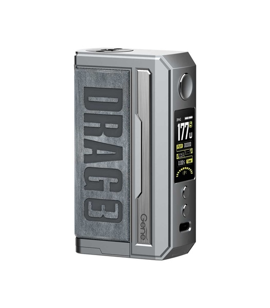 Picture of VOOPOO DRAG 3 177W TC Box MOD Smoky Grey