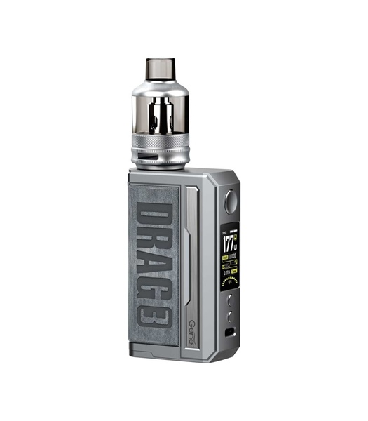 Picture of VOOPOO DRAG 3 177W TC Box Mod Kit with TPP 5.5ml Smoky Grey