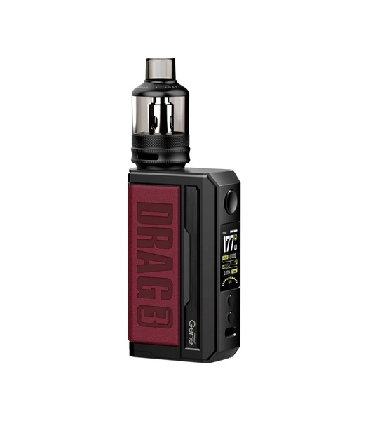 Picture of VOOPOO DRAG 3 177W TC Box Mod Kit with TPP 5.5ml Marsala