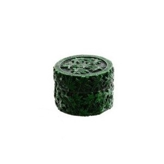 Picture of Τρίφτης καπνού Green ανάγλυφος 50mm 3 parts