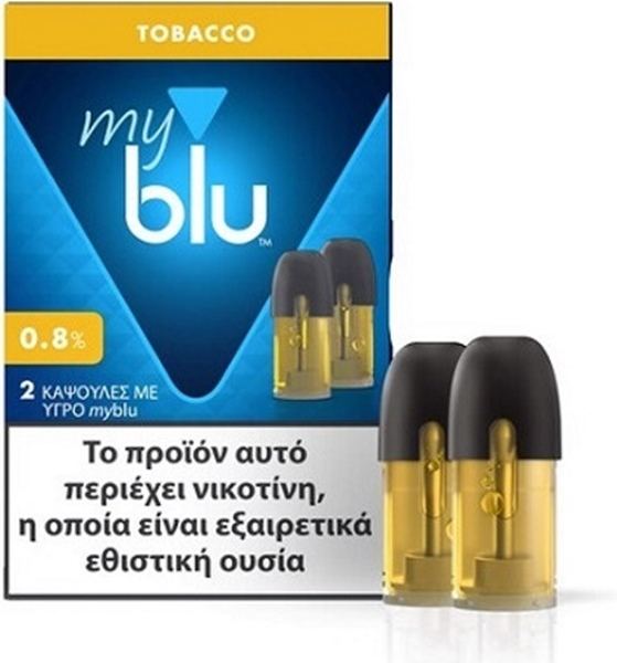 Picture of MyBlu Tobacco 2 Pods 0.8%
