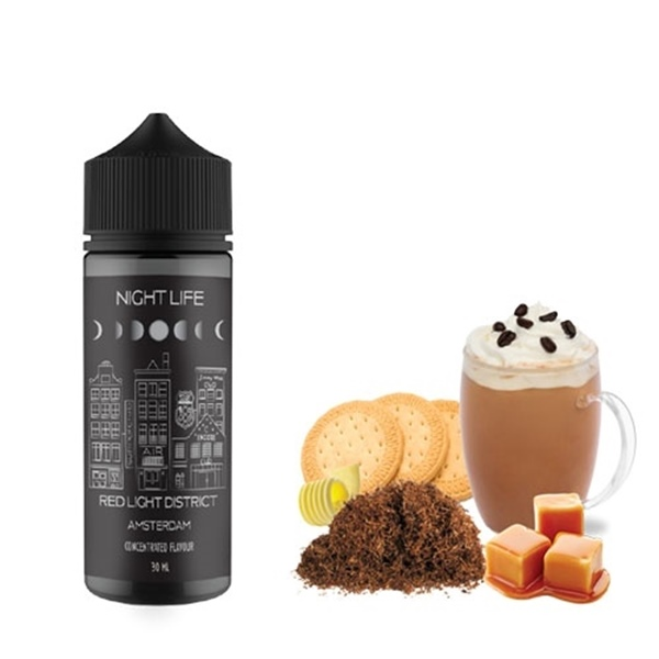 Picture of Night Life Red Light District 120ml