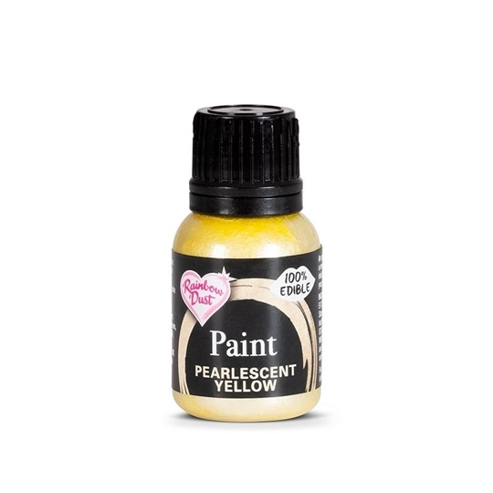 Picture of Rainbow Dust Pearlescent Yellow Paint