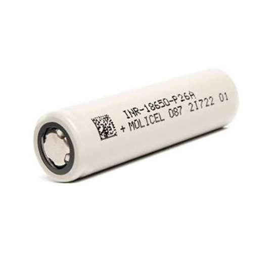Picture of Molicel INR 18650 P26A 35A 2600mAh