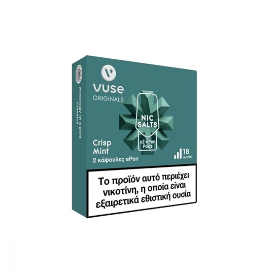 Picture of Vuse ePen3 Crisp Mint 2 Pods 18mg