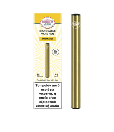 Picture of Dinner Lady Disposable Banana Ice Vape Pen 20Mg 1.5ml