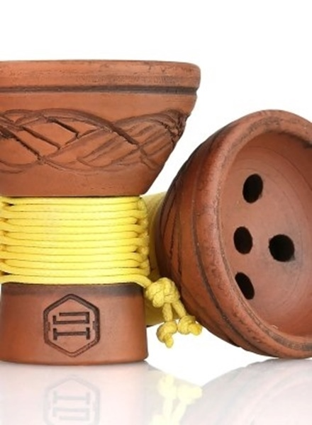 Picture of Japona Hookah Turkish Yellow Bowl